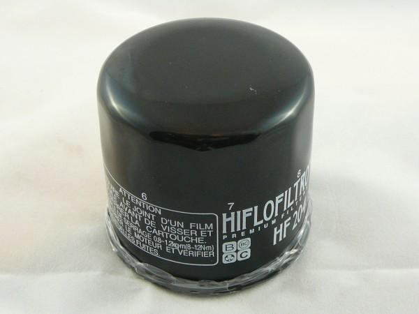 Ölfilter HIFLO, Triumph aussen