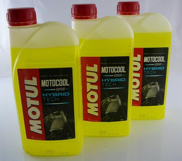 Motul Set 3Liter Motocool Expert Kühlerfrostschutz -37°C