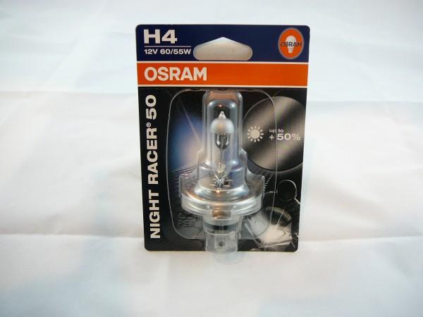 OSRAM Night Racer 50 H4 60W/55W